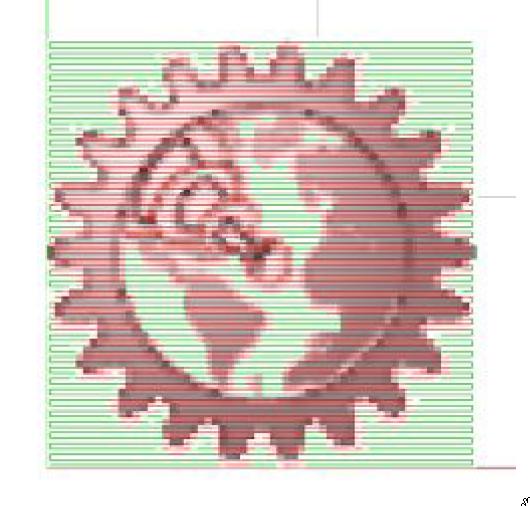 Операция: Laser Raster (для растровых изображений)
