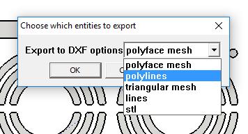 Sketchup 2D экспорт в DXF